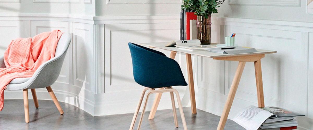 Diseña tu casa con aire escandinavo gracias a los muebles nórdicos de HAY